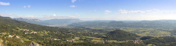 Vipava valley Royalty Free Stock Photos