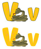 Viper des Zeichens V Stockbilder