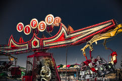 Viper Ride. At Midway of Fun Stock Image