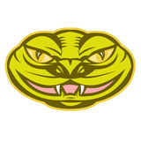 Viper Snake Serpent Head Royalty Free Stock Image