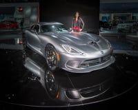 Viper SRT (Dodge) Lizenzfreie Stockbilder