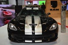 Vipera di Dodge al salone dell'automobile di Ginevra Immagini Stock
