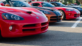 Vipers,  Woodward Dream Cruise, Royal Oak, MI Stock Image