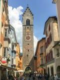 Vipiteno维皮泰诺,南蒂罗尔,意大利老镇  库存照片