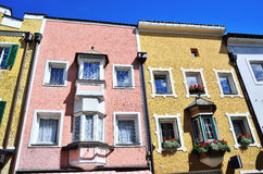 Vipiteno,南蒂罗尔,意大利 免版税库存图片