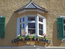 Vipiteno, Bozen Fassade des Tiroler traditionellen Hauses Stockfoto