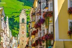 Vipiteno Sterzing - Trentino Alto Adige - Italië Stock Foto's