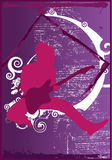 vippa royaltyfri illustrationer