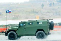 VIPS-233115老虎M装甲车 俄国 免版税图库摄影