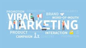 Viraal Marketing Concept vector illustratie