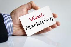 Viraal marketing tekstconcept Royalty-vrije Stock Fotografie