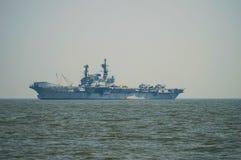 Viraat aircraft carrier Royalty Free Stock Photo