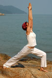 Virabhadrasana Stock Photos