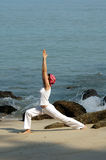 Virabhadrasana Royalty Free Stock Photo