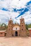 Viracocha Temple, Cusco region, Peru (Ruin of Temple of Wiracocha) at Chacha Royalty Free Stock Image
