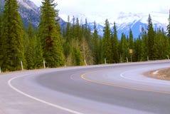 Virage de route photos stock