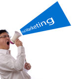 Viral Marketing Design Concept Stock Photo