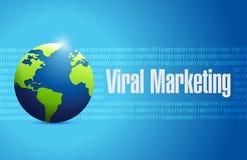 Viral marketing international sign concept Stock Photos