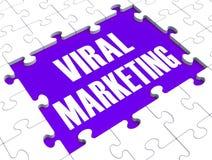 Viral Marketing Showing Advertising Stock Images