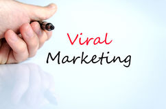 Viral marketing text concept Royalty Free Stock Photography