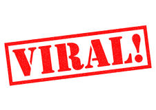 VIRAL! Royalty Free Stock Photography