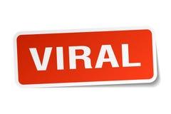 Viral sticker Stock Image