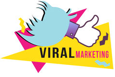 Virale Marketing Stock Foto