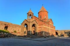 virap för armenia khorkloster Fotografering för Bildbyråer