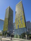 Vire las torres en CityCenter en Las Vegas Fotografía de archivo
