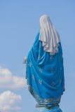A Virgem Maria abençoada na frente de Roman Catholic Diocese, lugar público em Chanthaburi fotografia de stock royalty free