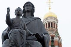 Virgem Maria com a criança de Cristo imagens de stock