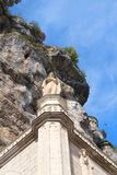 Virgem Maria em Rocamadour foto de stock