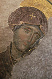 Virgen bizantina fotos de archivo