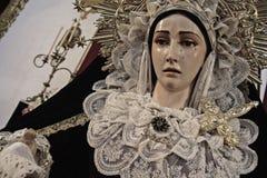 Virgen de la索莱达 免版税库存照片