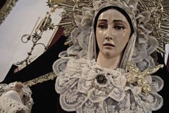 Virgen de la Soledad Royalty Free Stock Photos