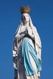 Virgen de Lourdes foto de archivo libre de regalías