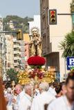 Virgen del Carmen Royaltyfria Foton