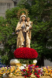 Virgen del Carmen Royalty Free Stock Photography