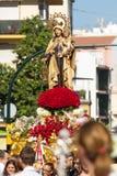 Virgen del Carmen Stock Afbeeldingen