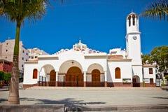Virgen del Carmen Church at Los Cristianos, Tenerife Stock Photography