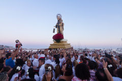 Virgen del Carmen Royalty Free Stock Photo