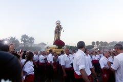 Virgen del Carmen Stock Image