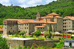 Virgen del Carmen Monastery in Boltanya, Huesca, Spain Stock Photo