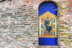 Virgen María bendecida aedicula votivo Imagen de archivo