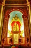 Virgen María y el pequeño Jesús, Palmanova, Italia Imagen de archivo libre de regalías