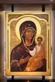 Virgen María y Jesús Imagen de archivo libre de regalías