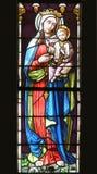 Virgen Maria con el bebé Jesús Imagen de archivo libre de regalías