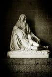 Virgen Maria holding the corpus Christi Royalty Free Stock Photo
