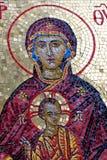 Virgen Maria y bebé Cristo Fotos de archivo libres de regalías