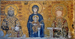 Virgen Maria y el niño Imagen de archivo